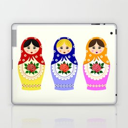 Russian matryoshka nesting dolls Laptop & iPad Skin