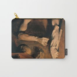 12,000pixel-500dpi - Adolph Menzel - Studio Wall - Digital Remastered Edition Carry-All Pouch