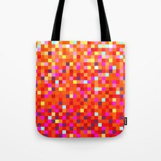 Inferno -- Pixel Art by KCS Tote Bag
