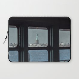 Statue of Liberty from the ferry Laptop Sleeve
