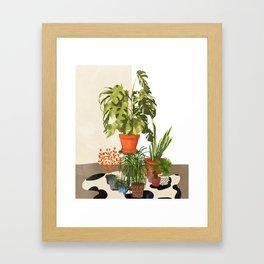 Plant Pots Framed Art Print
