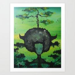 Gaia's Meliae Art Print