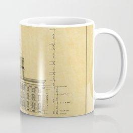Alabama State Capitol 1851 Coffee Mug