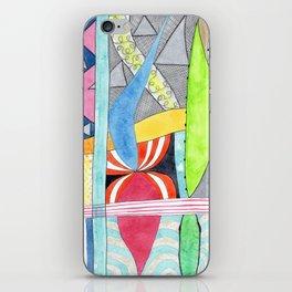 Wonderful Mixture of Geometric and Organic Shapes iPhone Skin