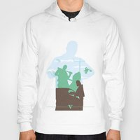 gta Hoodies featuring GTA V - FRANKLIN CLINTON by ahutchabove