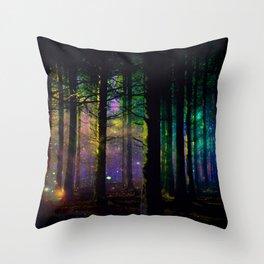 Fairy dust everywhere Throw Pillow