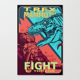 Fight of the Eon Canvas Print