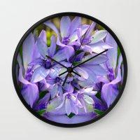spiritual Wall Clocks featuring Spiritual Bells by CrismanArt