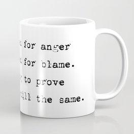 Everything's still the same - Lyrics collection Coffee Mug