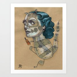 SUGAR DRAGON Art Print