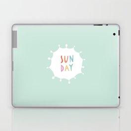 Sunday in Mint Laptop & iPad Skin