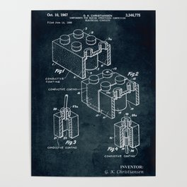 1966 - Components for making structures comprising electrical circuits Poster