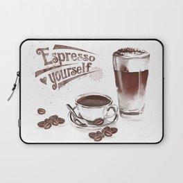 Espresso Yourself Laptop Sleeve