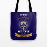 warhammer Tote Bags featuring Librarian, Warhammer 40K by ZsaMo Design