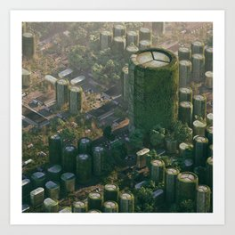 Chip City Art Print
