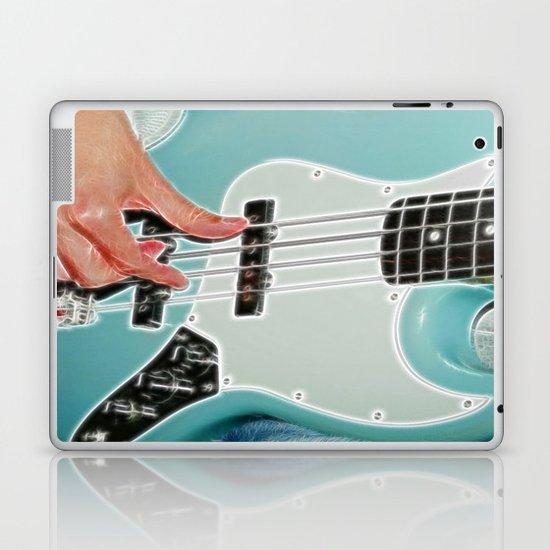 Mr Bassman Guitar fractals Laptop & iPad Skin