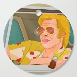 Once Upon A Time in Hollywood Cliff Booth Cutting Board