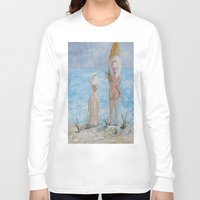 hats Long Sleeve T-shirts featuring Hats by EloiseArt