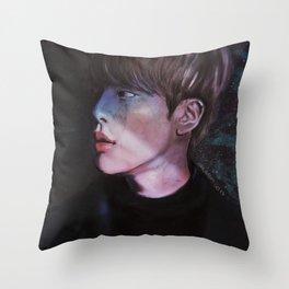 awake.jpg Throw Pillow
