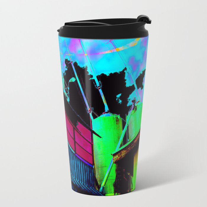 Color Silo Metal Travel Mug