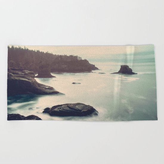 Ocean Motion Beach Towel