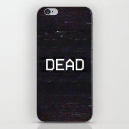 DEAD iPhone Skin