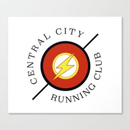 Central City running club Canvas Print