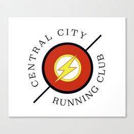 Central City running club Canvas Print