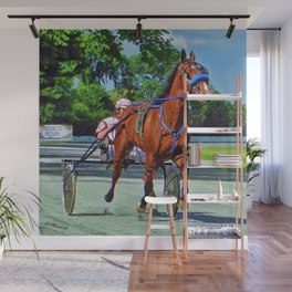 The Backstretch Wall Mural