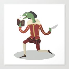 William Snakespeare Canvas Print