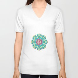Mandala Artistica Spring Unisex V-Neck