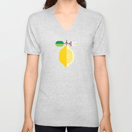 Fruit: Lemon Unisex V-Neck