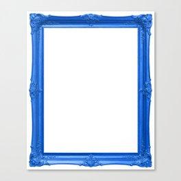 Blue Antique Frame Canvas Print