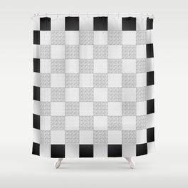 Chess Pad Shower Curtain