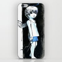 child iPhone & iPod Skins featuring Child by Vagelio