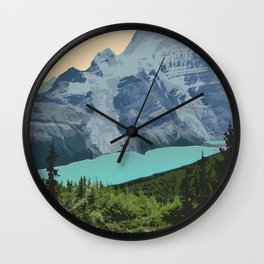 Mount Robson Provincial Park Wall Clock