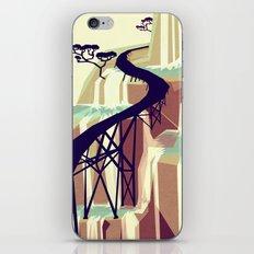 The black bridge iPhone & iPod Skin