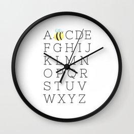 A Bee C's Wall Clock