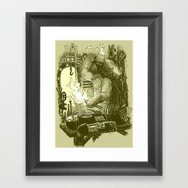Doombots Framed Art Print