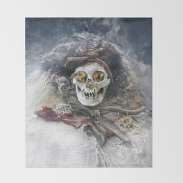 The Beauty of the Long-Dead Throw Blanket