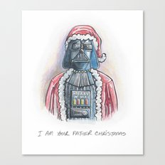 I Am Your Father Christmas Canvas Print