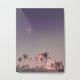 Elbow Beach Sunset Metal Print