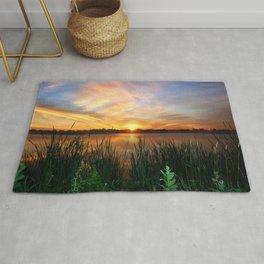 Sunrise At the Lake Rug