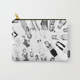 Group of High Street Girls Carry-All Pouch