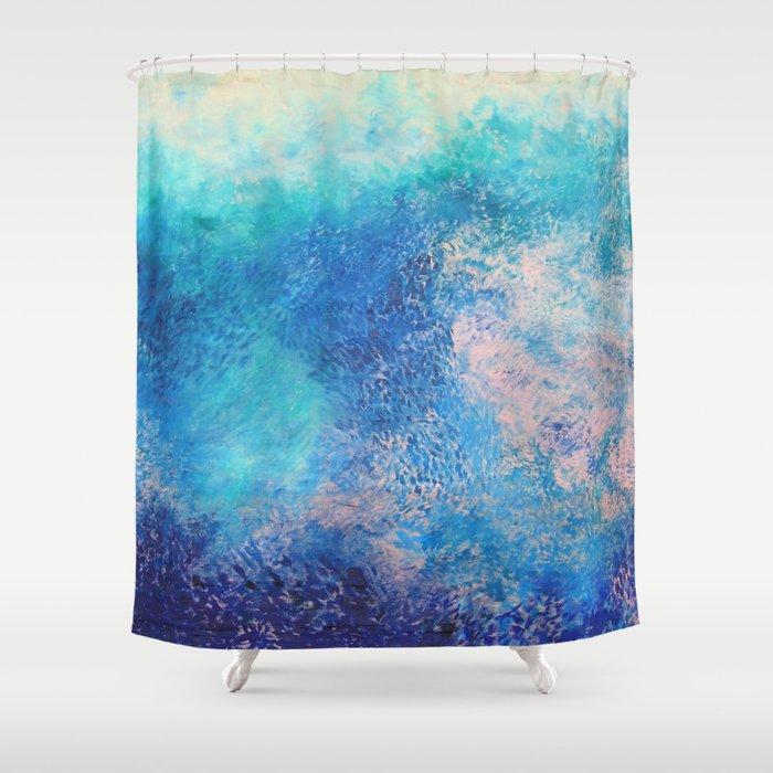 Water Shower Curtain by stefaniapuntaroli | Society6