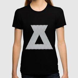 Chevron Navy T-shirt