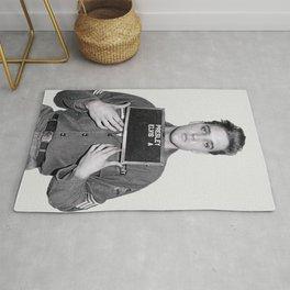 Elvis Presley Mugshot, Wall Art, Gift for Him, Cool, Retro, Vintage Print, Rug