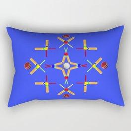 Sport Of Cricket Design Rectangular Pillow