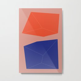 Minimal Geometry No. 10 Metal Print