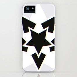 Starry Nightmare? Colourful Edge! iPhone Case